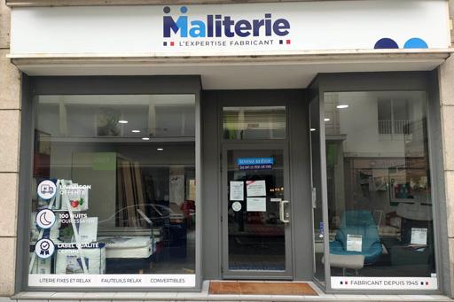 Magasin de literie à Nantes centre