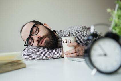 homme qui dort