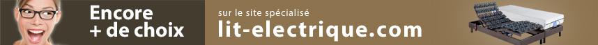 Encore plus de choix de lit électrique sur le site Lit-electrique.com