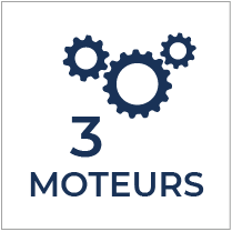 3 moteurs