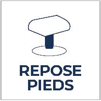 Repose-pieds