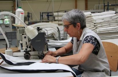 Les coulisses de Maliterie - Joelle, responsable adjointe de l'atelier matelas