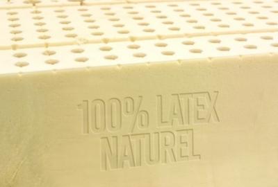 Qu'est-ce qu'un matelas 100% latex naturel ?