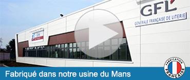 Usine de fabrication de literie au Mans - GFL
