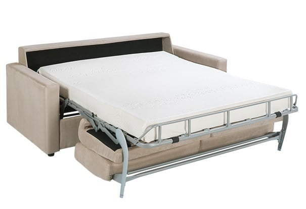 canap lit matelas pais good canap convertible en bois. Black Bedroom Furniture Sets. Home Design Ideas