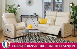 Fauteuil relax fabriqué en France