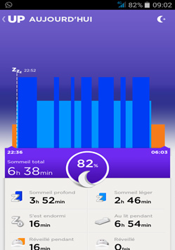 Screenshot 5 Jawbone UP